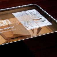 Tischplatten aus Glas